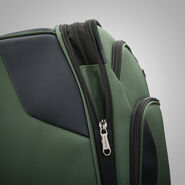 "Samsonite Armage 25"" Expandable Spinner in the color Forest Green."