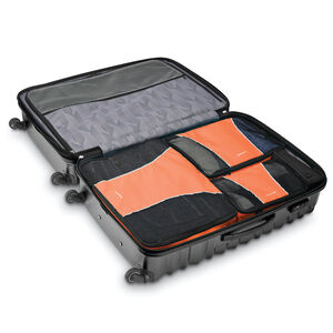 Samsonite 3 Piece Packing Cube Set in the color Orange Tiger.