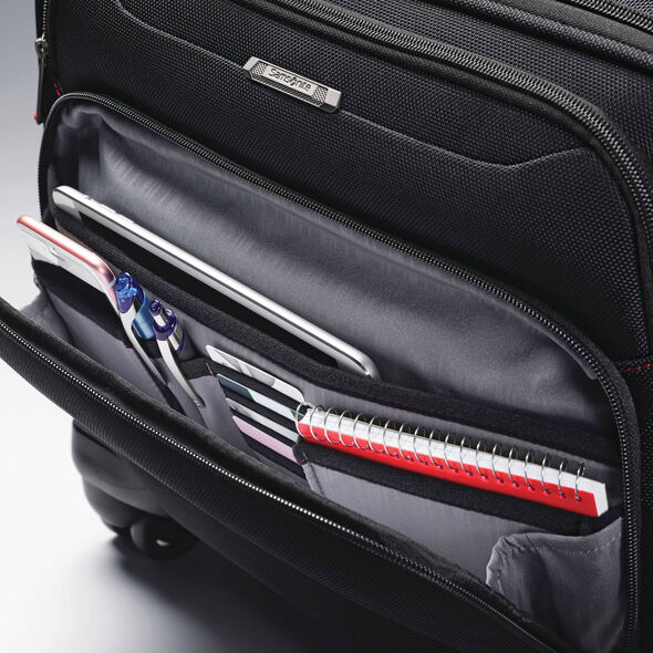 Samsonite Xenon 3.0 Spinner Mobile Office in the color Black.
