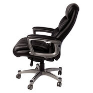 Samsonite Lisbon Bonded Leather Chair in the color Black.