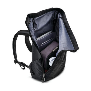 Valt Rolltop Backpack in the color Black.