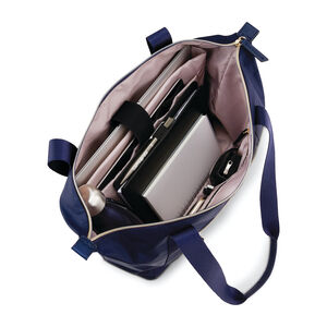 Mobile Solution Classic Carryall in the color Navy Blue.