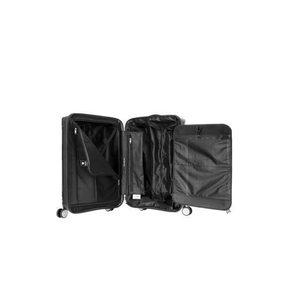 "Samsonite Hartlan 25"" Spinner in the color Black."