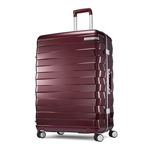 "Samsonite Framelock 28"" Spinner in the color Cordovan."