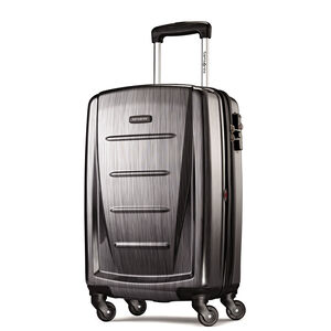 "Winfield 2 Fashion 20"" Spinner in the color Charcoal."