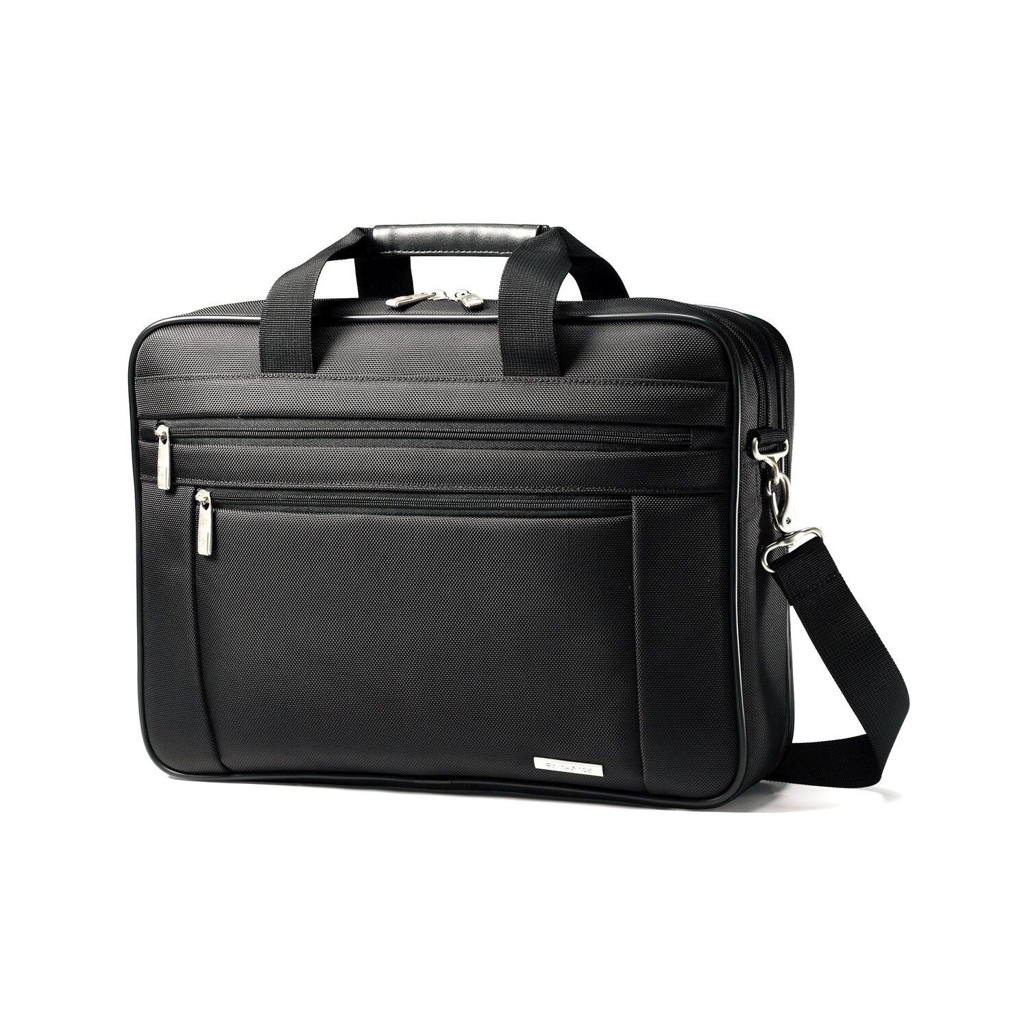 f2baa71f96cd Samsonite Classic Business Perfect Fit Two Gusset Laptop Bag - 15.6