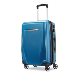 """Samsonite Winfield 3 DLX 20"""" Spinner in the color Blue/Navy."""