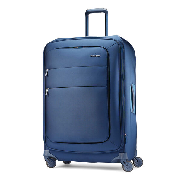 "Samsonite Flexis 30"" Spinner in the color Carbon Blue."