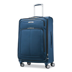 "Samsonite SoLyte DLX 25"" Expandable Spinner in the color Mediterranean Blue."