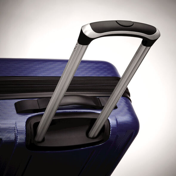 """Samsonite Carbon 2 20"""" Spinner in the color Navy."""