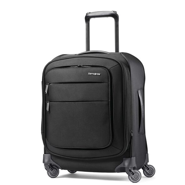 "Samsonite Flexis 19"" Spinner in the color Jet Black."