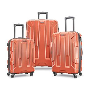 Samsonite Centric 3 Piece Set in the color Burnt Orange.
