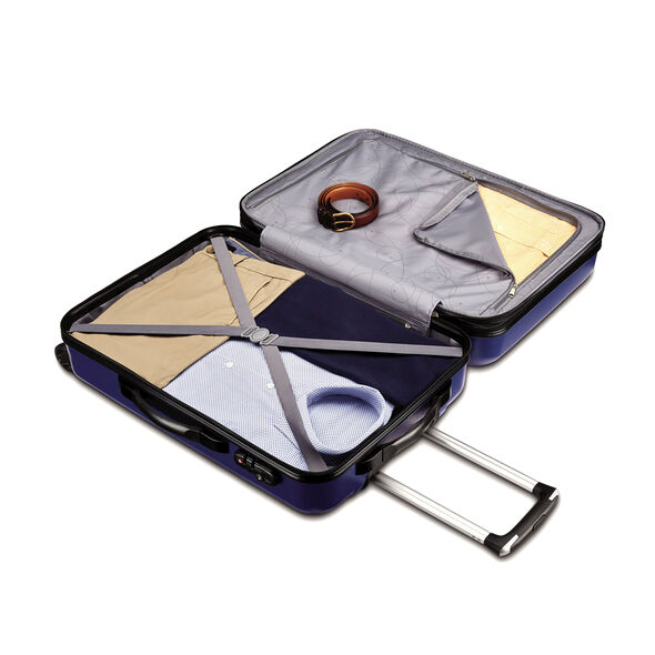 """Samsonite Carbon 2 24"""" Spinner in the color Navy."""