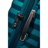 "Samsonite Black Label Lite-Shock 25"" Spinner in the color Petrol Blue."