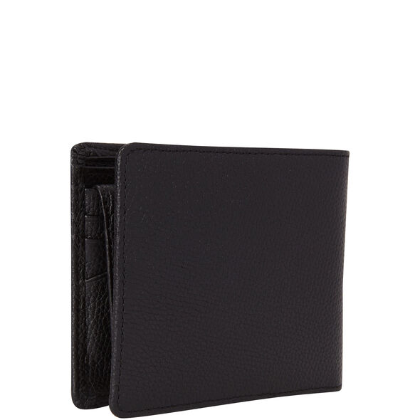Samsonite Mens Leather 2 Compartment Wallet with Removable ID Case in the color Black.