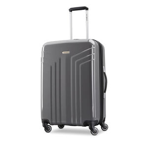 "Samsonite Sparta 24"" Spinner in the color Dark Grey."