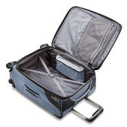 "Samsonite Armage 25"" Expandable Spinner in the color Steel Blue."