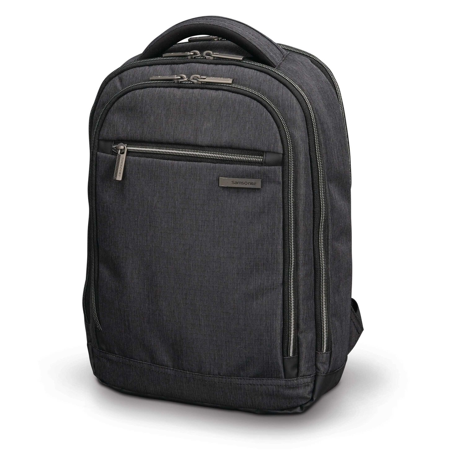db47e0cca98 Samsonite Modern Utility Small Backpack in the color Charcoal  Heather Charcoal.