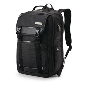 Samsonite Carrier Tucker Backpack in the color Black.