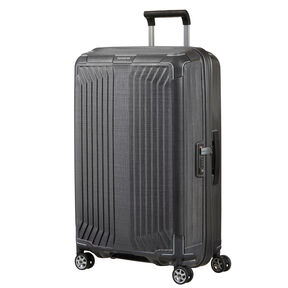 "Samsonite Lite-Box 25"" Spinner in the color Eclipse Grey."