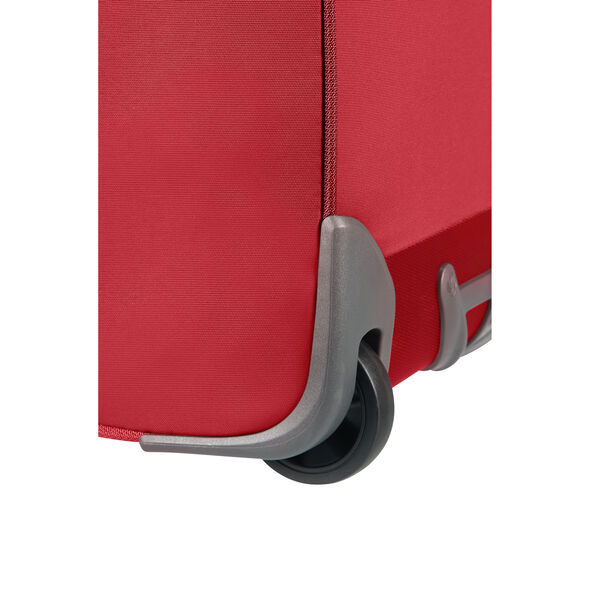 """Samsonite Uplite 20"""" Wheeled Duffle in the color Red."""