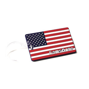 Samsonite Samsonite Designer ID Tags in the color American Flag.