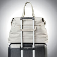Samsonite Encompass Womens Convertible Weekend Duffel in the color Stone.