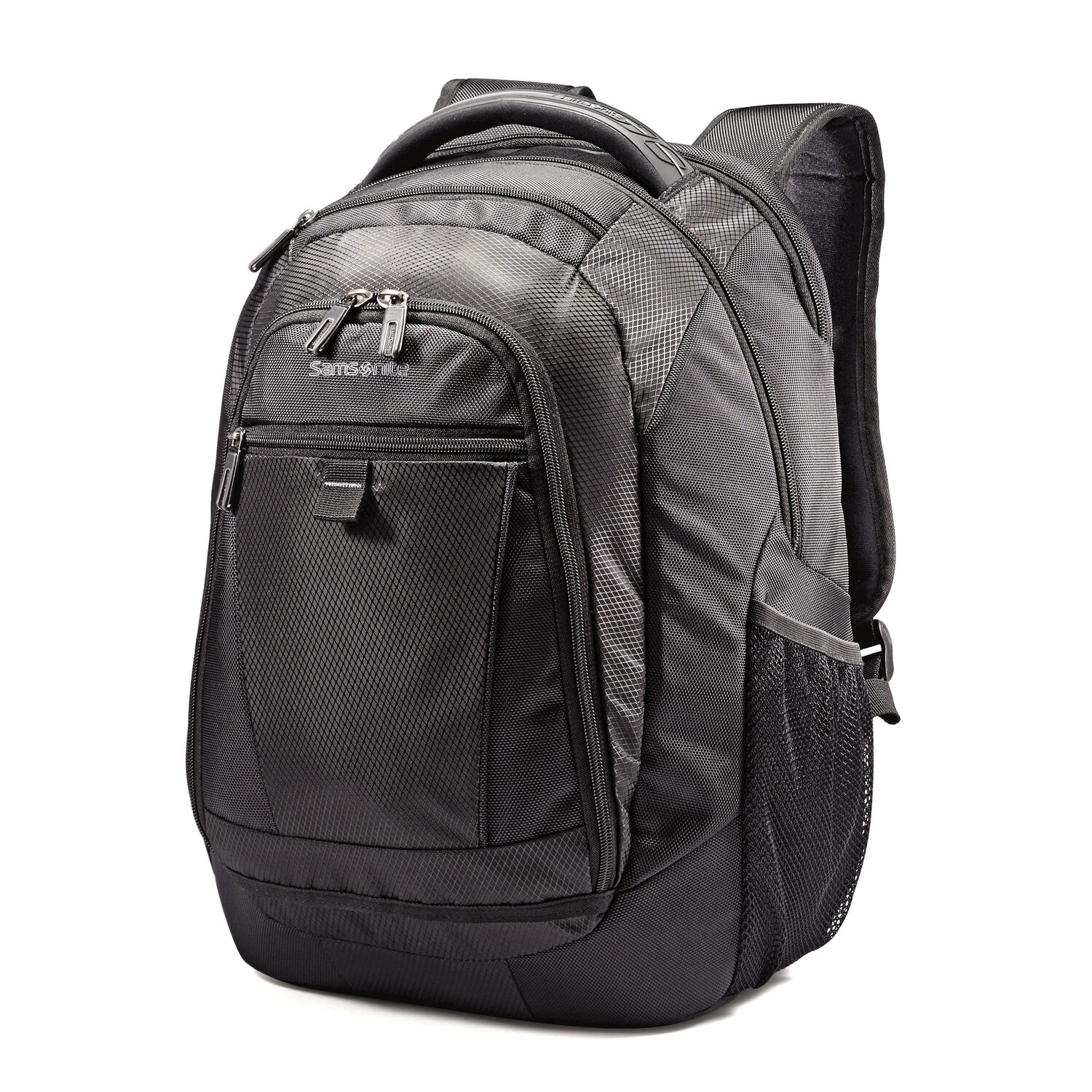 954fe84f6c61 Samsonite Tectonic 2 Medium Backpack in the color Black.