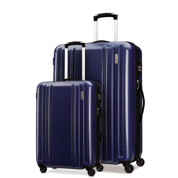 Samsonite Carbon 2 2 Piece Set in the color Navy.