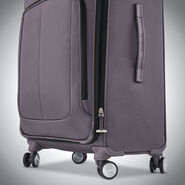 Samsonite SoLyte DLX Carry-On Expandable Spinner in the color Mineral Grey.