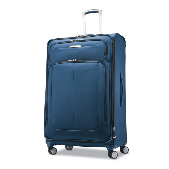 """Samsonite SoLyte DLX 29"""" Expandable Spinner in the color Mediterranean Blue."""
