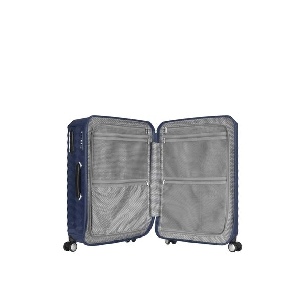"Samsonite Polygon 20"" Spinner in the color Blue."
