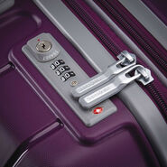 "Samsonite Freeform 28"" Spinner in the color Plum."