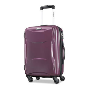 "Samsonite Pivot 20"" Spinner in the color Purple."