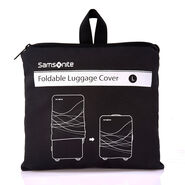 Samsonite Large Foldable Luggage Cover in the color Black.