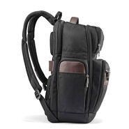 Samsonite Kombi 4 Square Backpack in the color Black/Brown.