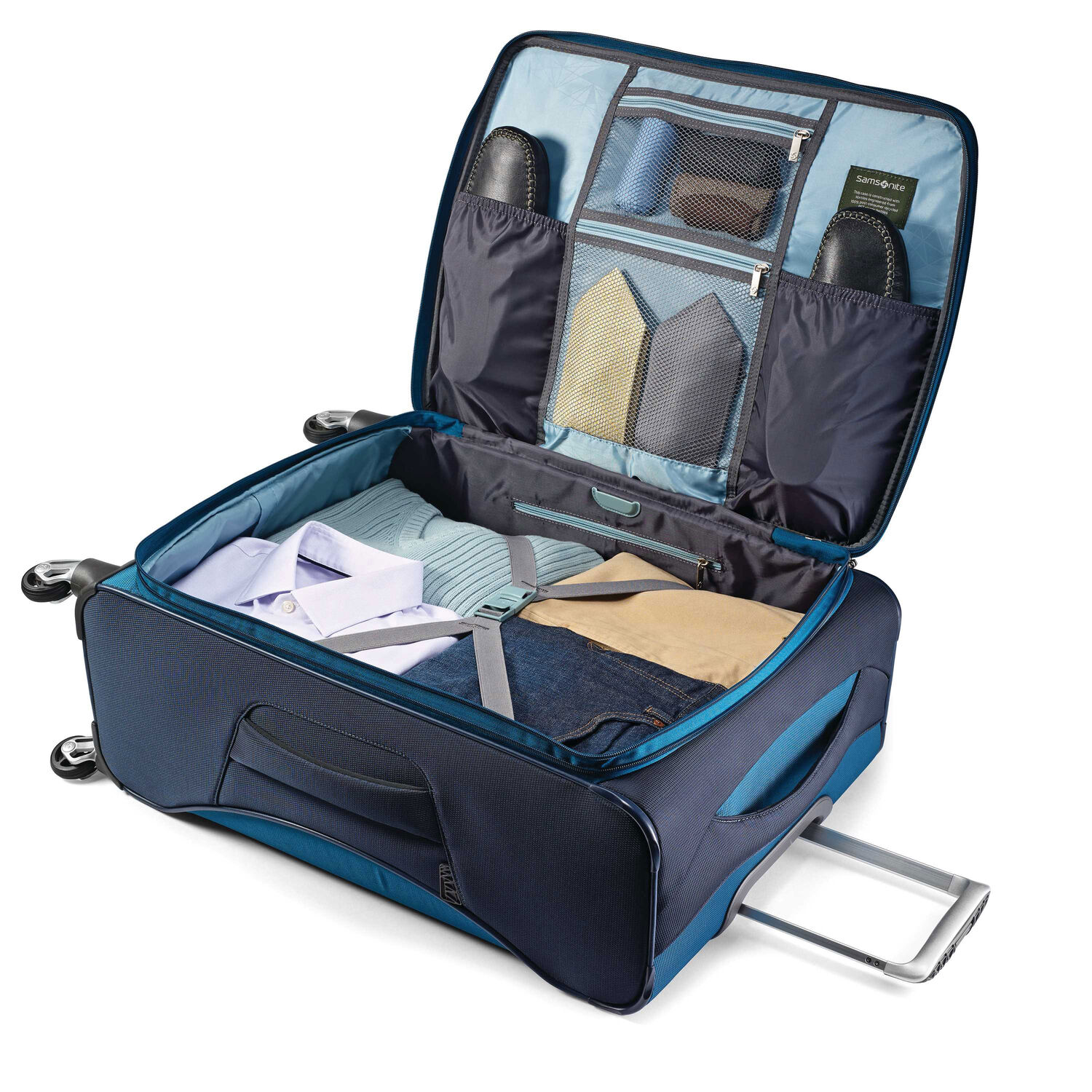 7fa6d50dbcf ... Samsonite Eco-Nu 29 quot  Expandable Spinner in the color Pacific ...