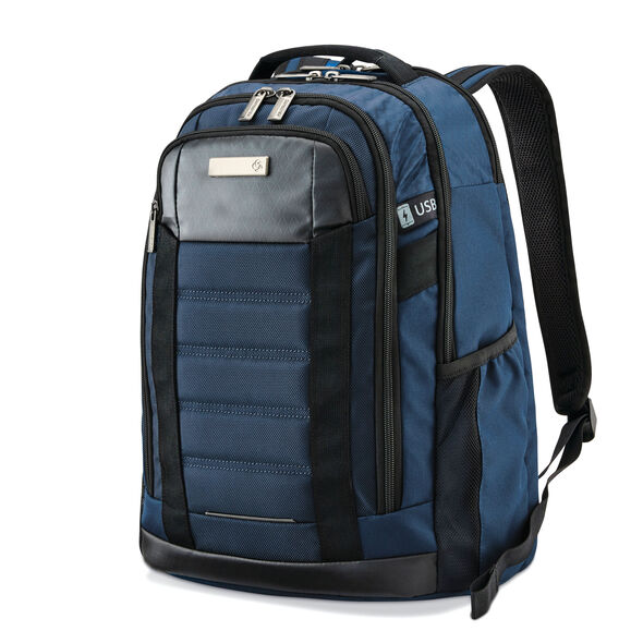 Samsonite Carrier GSD Backpack in the color Pacific Blue.