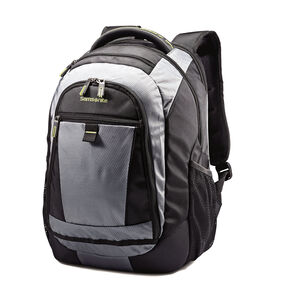 Samsonite Tectonic 2 Medium Backpack in the color Black/Lime Green.