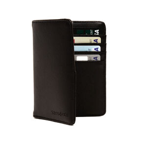 Samsonite RFID Passport Wallet in the color Black.