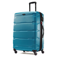 "Samsonite Omni PC 28"" Spinner in the color Carribean Blue."