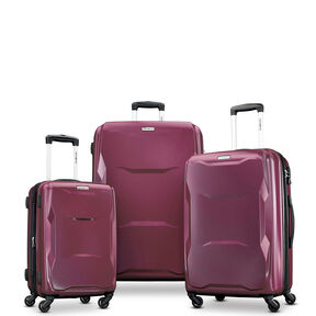 Samsonite Pivot 3 Piece Set in the color Merlot.