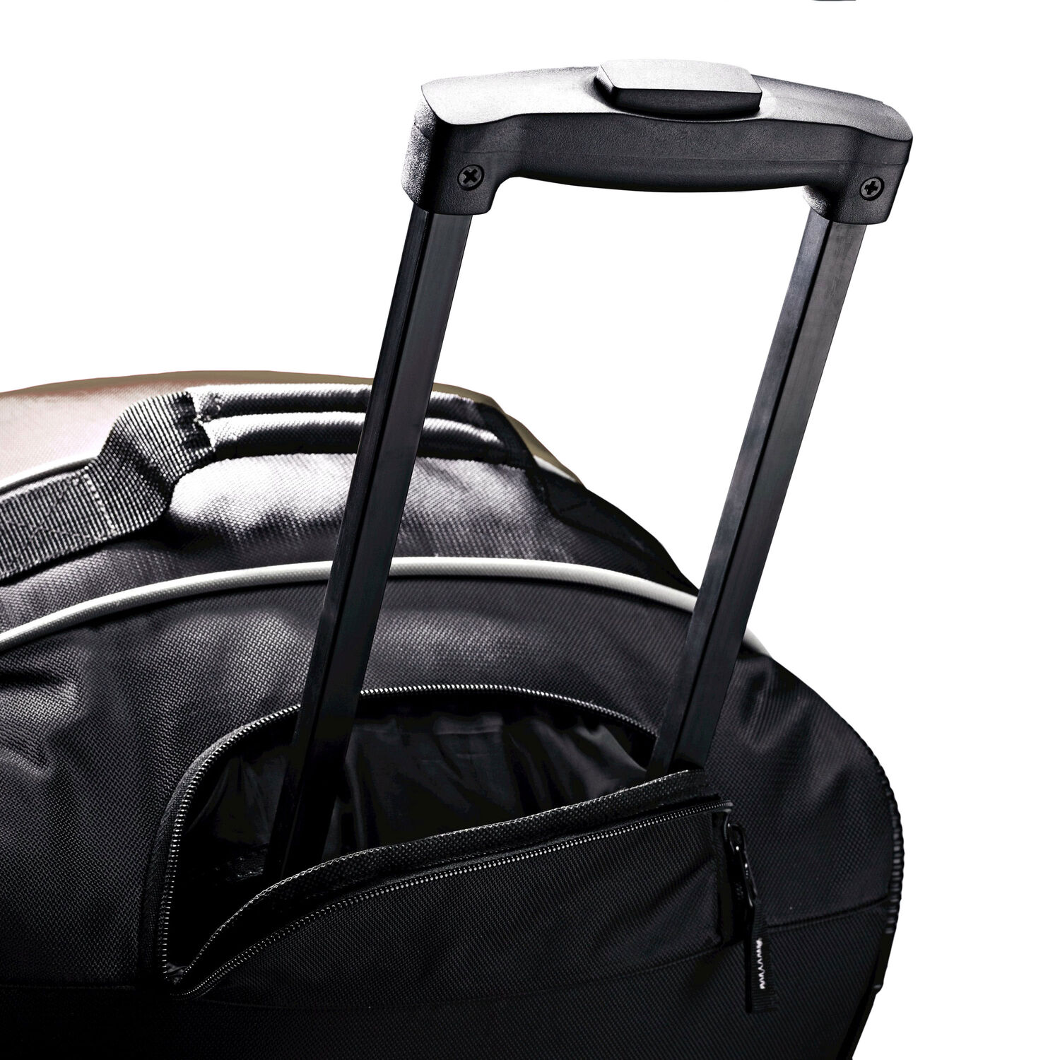 b7f5157923 Samsonite Andante 32 quot  Drop Bottom Wheeled Duffle in the color Black Red .