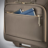 Samsonite Mobile Solution Upright Wheeled Mobile Office in the color Caper Green.