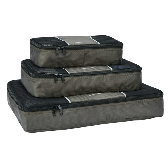 Samsonite 3 Piece Packing Cube Set in the color Charcoal.