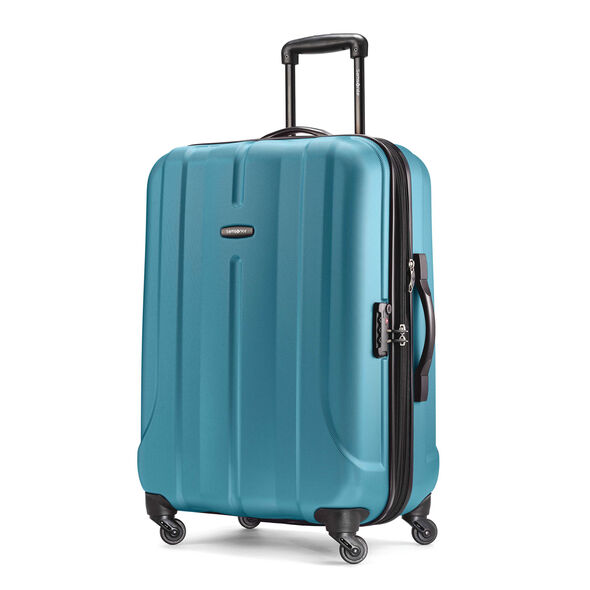 "Samsonite Fiero 24"" Spinner in the color Ocean Blue."