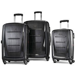 Winfield 2 Fashion 3 Piece Spinner Set in the color Brushed Anthracite.