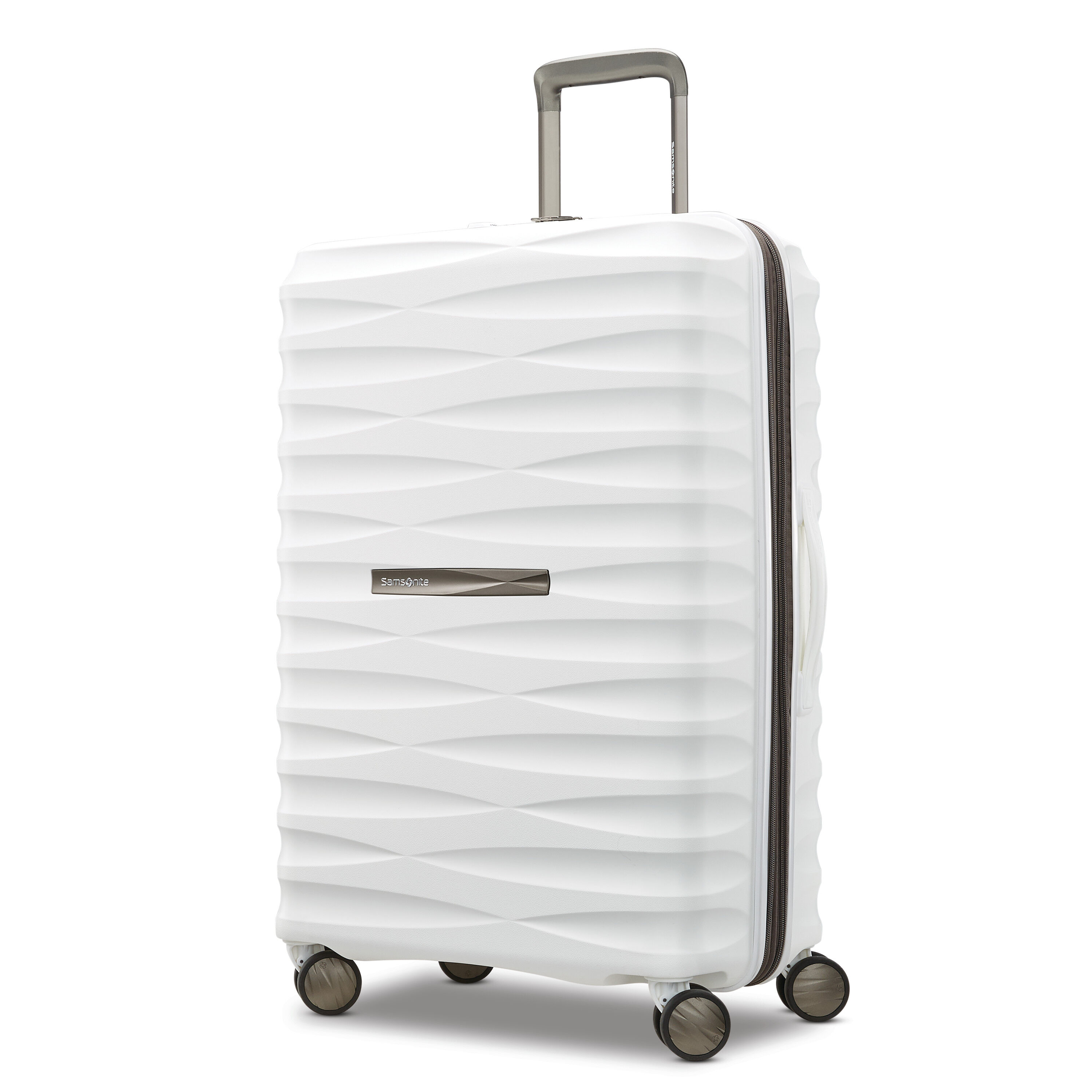 Real White Marble Half Pastel Mint Green Luggage Tags Suitcase Labels Bag Travel Accessories Set of 2