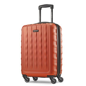 "Samsonite E-Volve DLX 20"" Spinner in the color Orange."