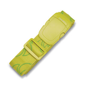 Samsonite Luggage Strap in the color Vivid Green.